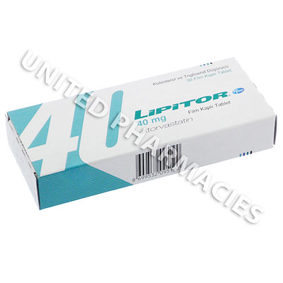 Lipitor (Atorvastatin Calcium) - 20mg (30 Tablets) Image1